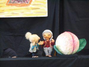 人形劇「ももたろう」